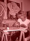 Aktivitäten und stieß dabei 1997 auf die bildende kunst